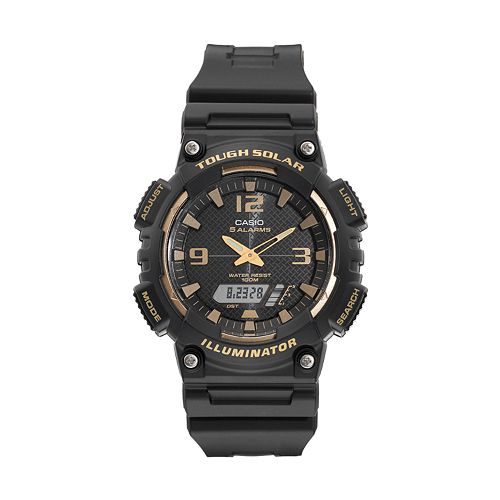 Casio Men's Tough Solar Analog-Digital Watch - AQS810W-1A3V