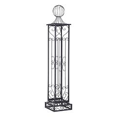 Click here to buy Sunjoy Norton Garden Arbor Post.