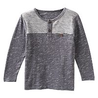 Boys 4-7 No Retreat Colorblocked Henley