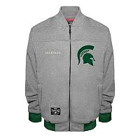 Men's Franchise Club Michigan State Spartans Edge Fleece Jacket