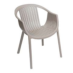 Sunjoy Basketweave Outdoor Dining Chair