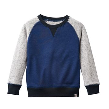 Boys 4-7 No Retreat Colorblock Long Sleeve Fleece Pullover
