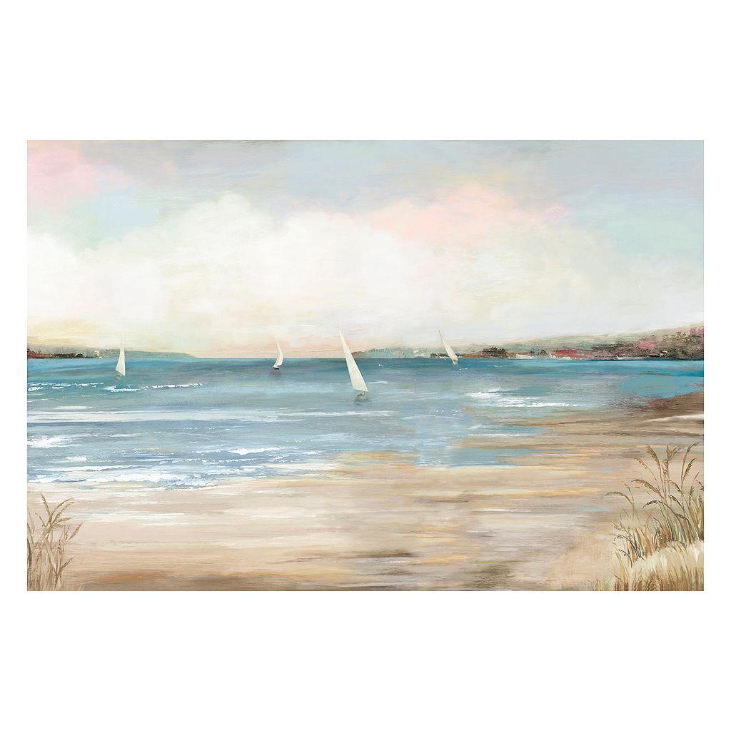 Artissimo Pearl Shore Canvas Wall Art