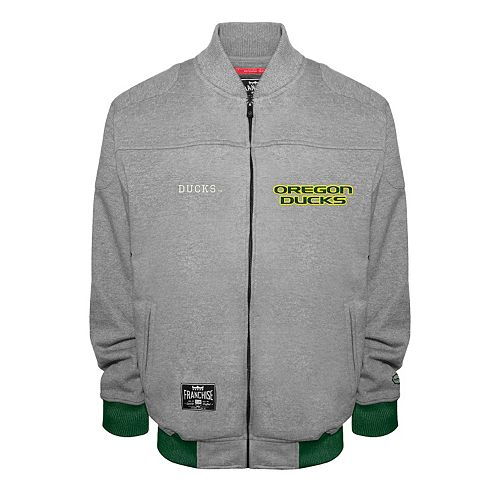 Men's Franchise Club Oregon Ducks Edge Fleece Jacket
