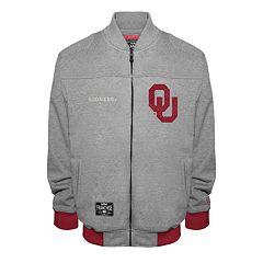 Men's Franchise Club Oklahoma Sooners Edge Fleece Jacket