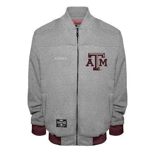 Men's Franchise Club Texas A&M Aggies Edge Fleece Jacket