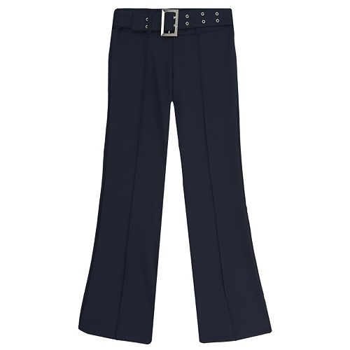 Girls 4-20 & Plus Size French Toast School Uniform Pull-On Belted Pants