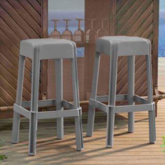 Sunjoy Indoor / Outdoor Bar Stool 2-piece Set