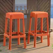 Sunjoy Indoor / Outdoor Bar Stool 2 pc Set