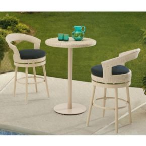 Sunjoy Fresh Bar Stool & Table 3-piece Set
