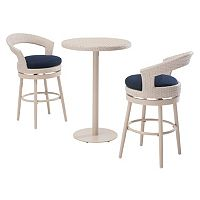 Sunjoy Fresh Bar Stool & Table 3-piece Set