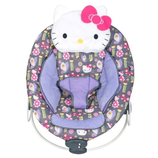 Hello Kitty® Floral Bouncer by Baby Trend