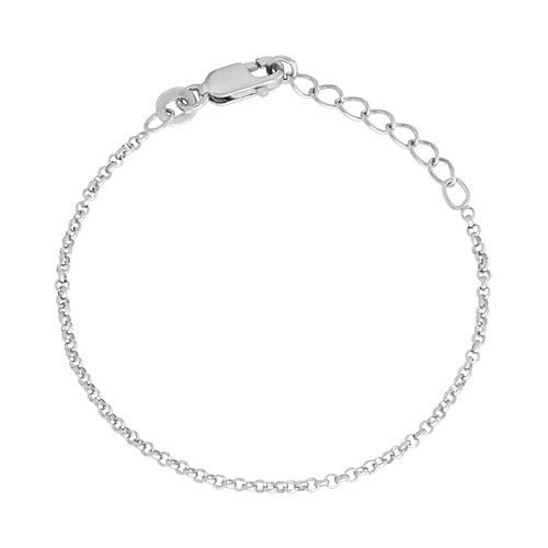 Junior Jewels Kids' Sterling Silver Rolo Chain Bracelet
