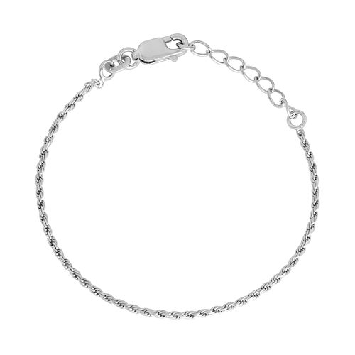 Junior Jewels Kids' Sterling Silver Rope Chain Bracelet