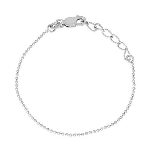 Junior Jewels Kids' Sterling Silver Ball Chain Bracelet