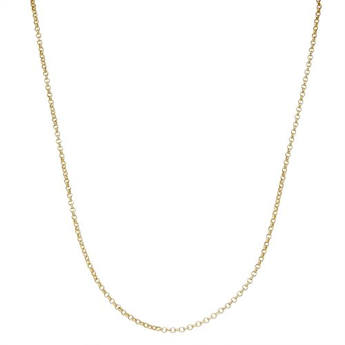 Junior Jewels Kids' Sterling Silver Rolo Chain Necklace