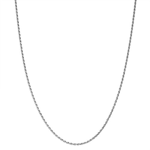 Junior Jewels Kids' Sterling Silver Rope Chain Necklace