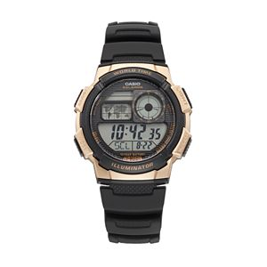 Casio Men's Classic Digital World Time Watch - AE1000W-1A3V