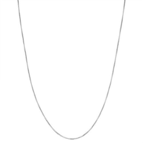 Junior Jewels Kids' Sterling Silver Box Chain Necklace