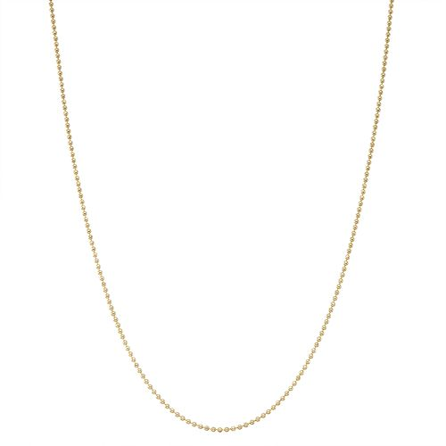 Junior Jewels Kids' Sterling Silver Ball Chain Necklace