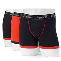 Men's Reebok 3-pack Boxer Briefs