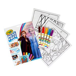 Disney's Frozen Mess-Free Color Wonder Markers & Paper Set by Crayola