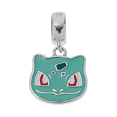 Pokemon Sterling Silver Bulbasaur Charm