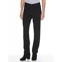Petite Gloria Vanderbilt Amanda Classic Fit Embellished Tapered Pants