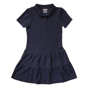 Girls 4-14 French Toast School Uniform Pique Polo Dress