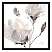 Artissimo Tonal Magnolias I Canvas Wall Art