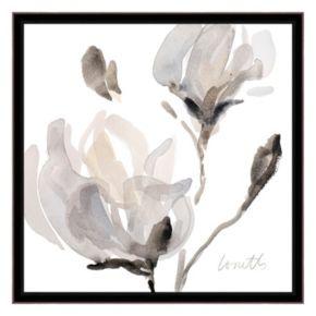 Artissimo Tonal Magnolias I Canvas Wall Art