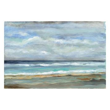 Artissimo Seashore I Canvas Wall Art