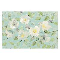 Artissimo Fading Spring Blue Canvas Wall Art