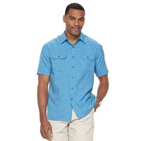 Men's Croft & Barrow® Classic-Fit Solid Outdoor Performance Button-Down Shirt