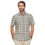 Men's Croft & Barrow® Classic-Fit Plaid Outdoor Performance Button-Down Shirt