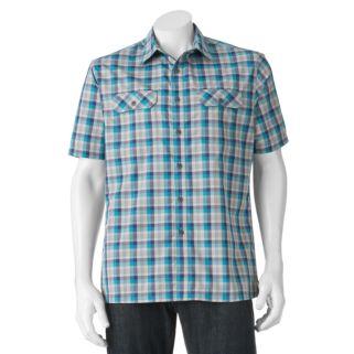 Men's Croft & Barrow® Classic-Fit Plaid Outdoor Performance Button-Down Shirt