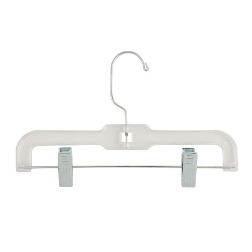 Honey-Can-Do 30-pack Clear Kids Pant Hanger