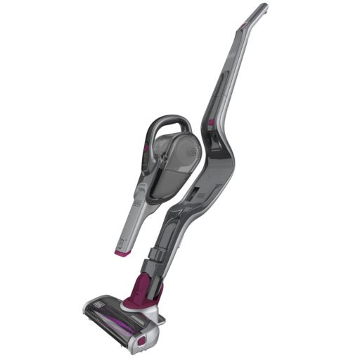 Black & Decker SMARTECH Lithium Cordless 2-in-1 Stick Vacuum with Pet Beater Bar (HSVJ415JMPS71)