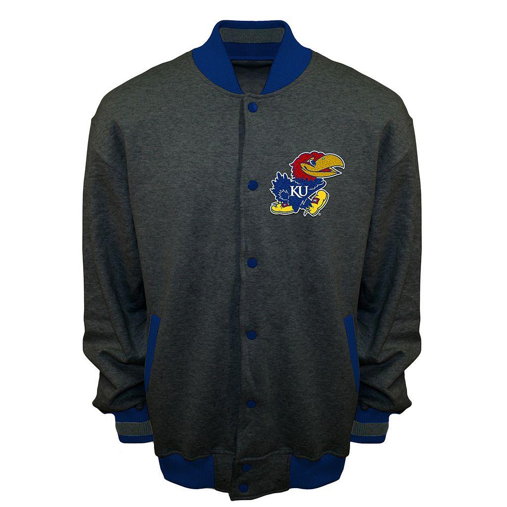 Men's Franchise Club Kansas Jayhawks Classic Fleece Jacket