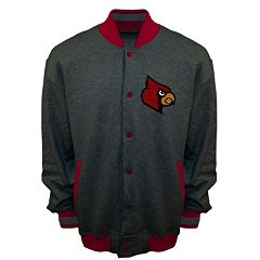 Men's Franchise Club Louisville Cardinals Classic Fleece Jacket