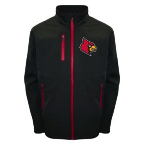 Men's Franchise Club Louisville Cardinals Softshell Jacket