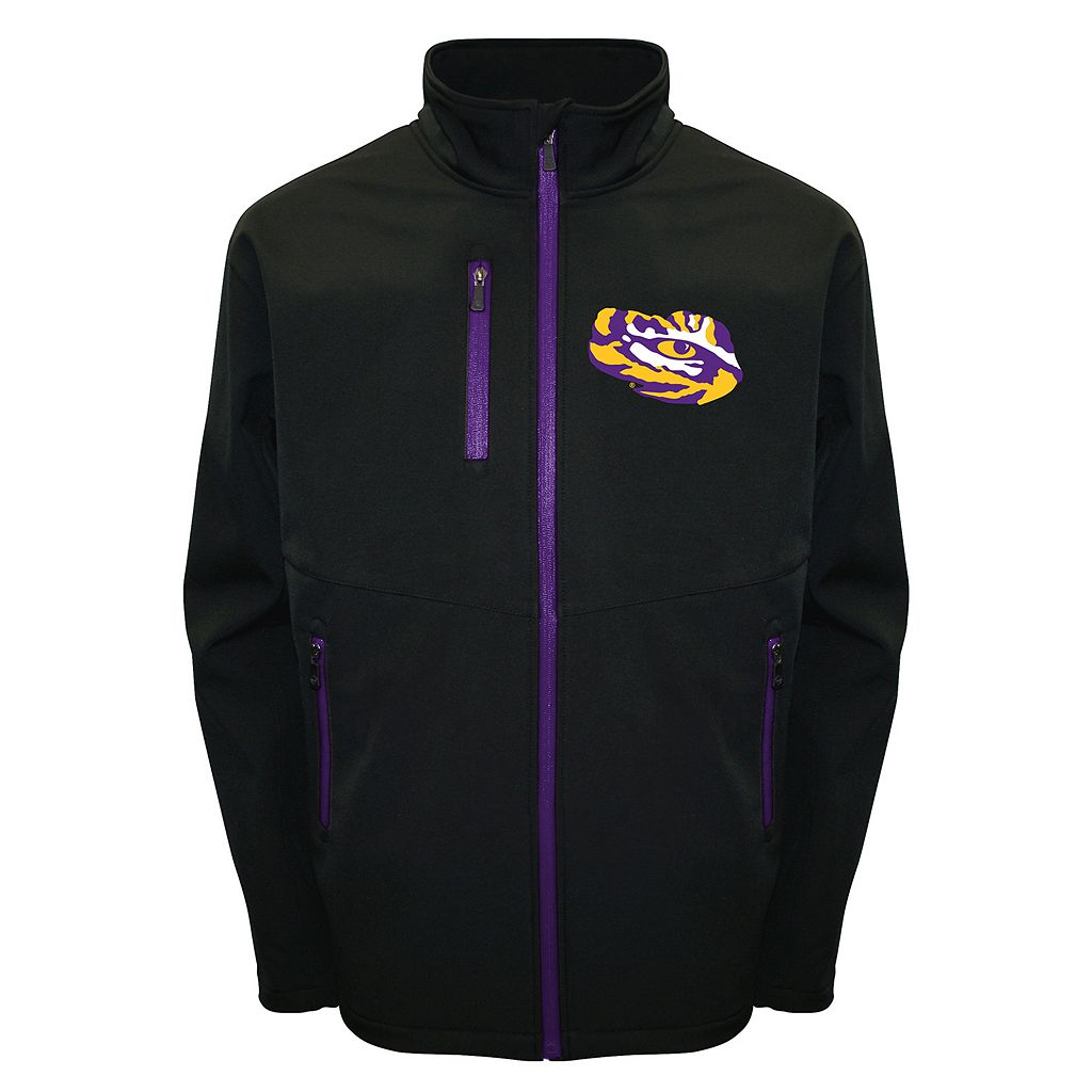 Men's Franchise Club LSU Tigers Softshell Jacket