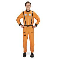 Adult Orange Astronaut Suit Costume