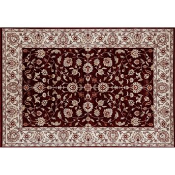 World Rug Gallery Panache Nain Framed Floral Rug