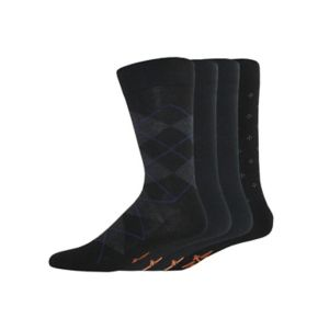 Men's Dockers 4-pack Argyle, Solid & Patterned Dress Socks