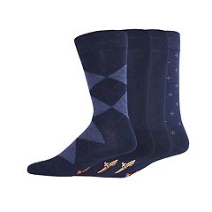 Men's Dockers 4-pack Argyle, Solid & Patterned Dress Socks