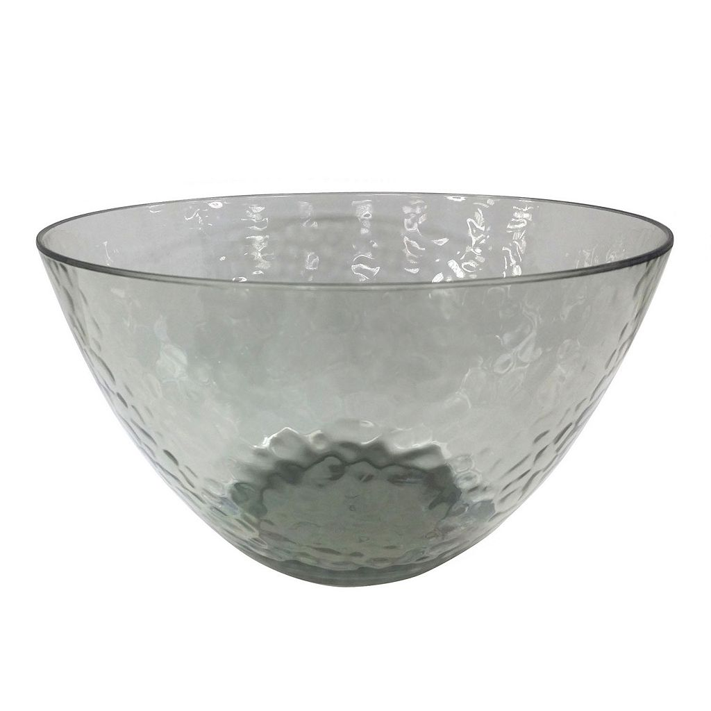 Food Network™ Smoke Textured Acrylic Serving Bowl
