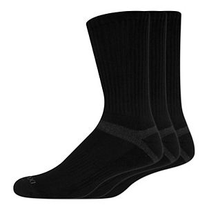 Men's Dockers 3-pack Enhanced Cushioned Crew Socks