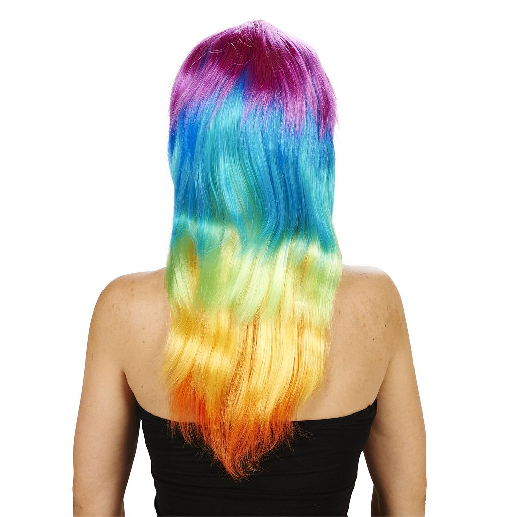 Adult Colorful Costume Wig