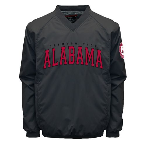 Men's Franchise Club Alabama Crimson Tide Coach Windshell Jacket